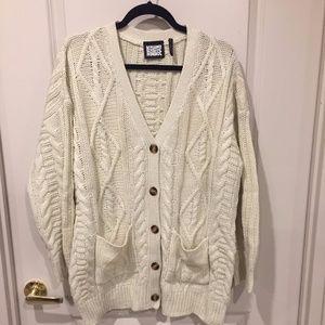 ASOS Reclaimed Vintage chunky oversized cardigan